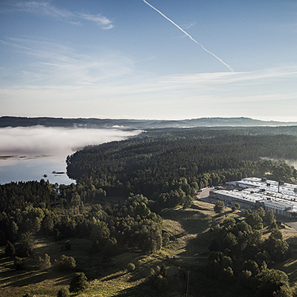 Troax production facility in Hillerstorp, Sweden.
