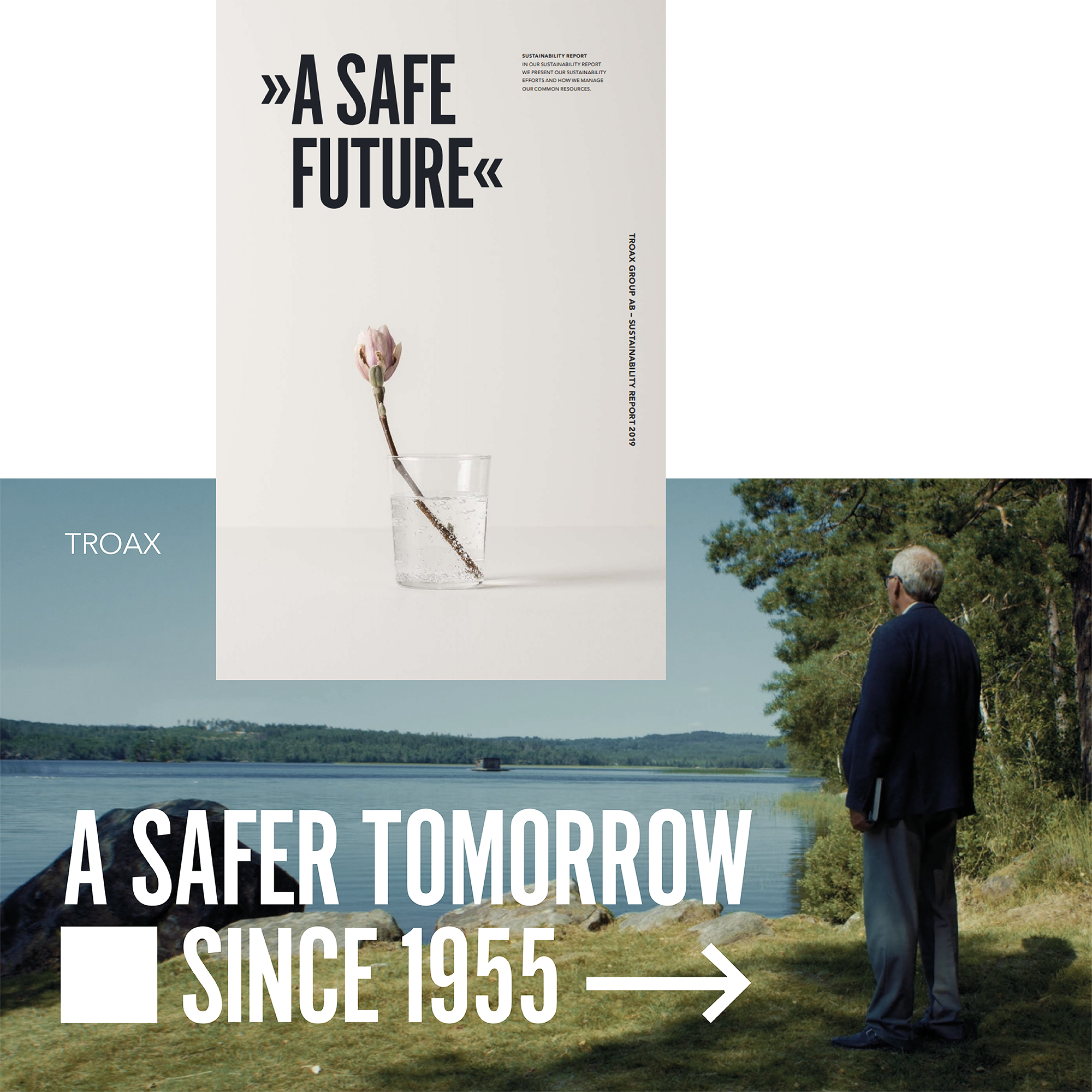 Sustainability Report & For A Safer Tomorrow video
