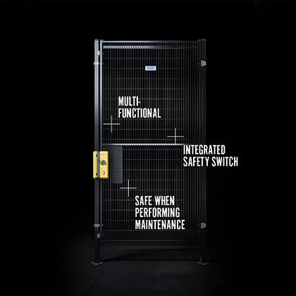 Safe Escape Lock USPs: Multifunctional, Intergrated switch, Safe when performing maintanence.