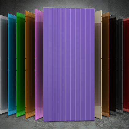 Full steel panels in different colours.