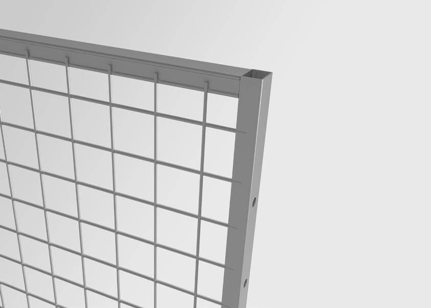 Panel UR350 with mesh 50x50 mm