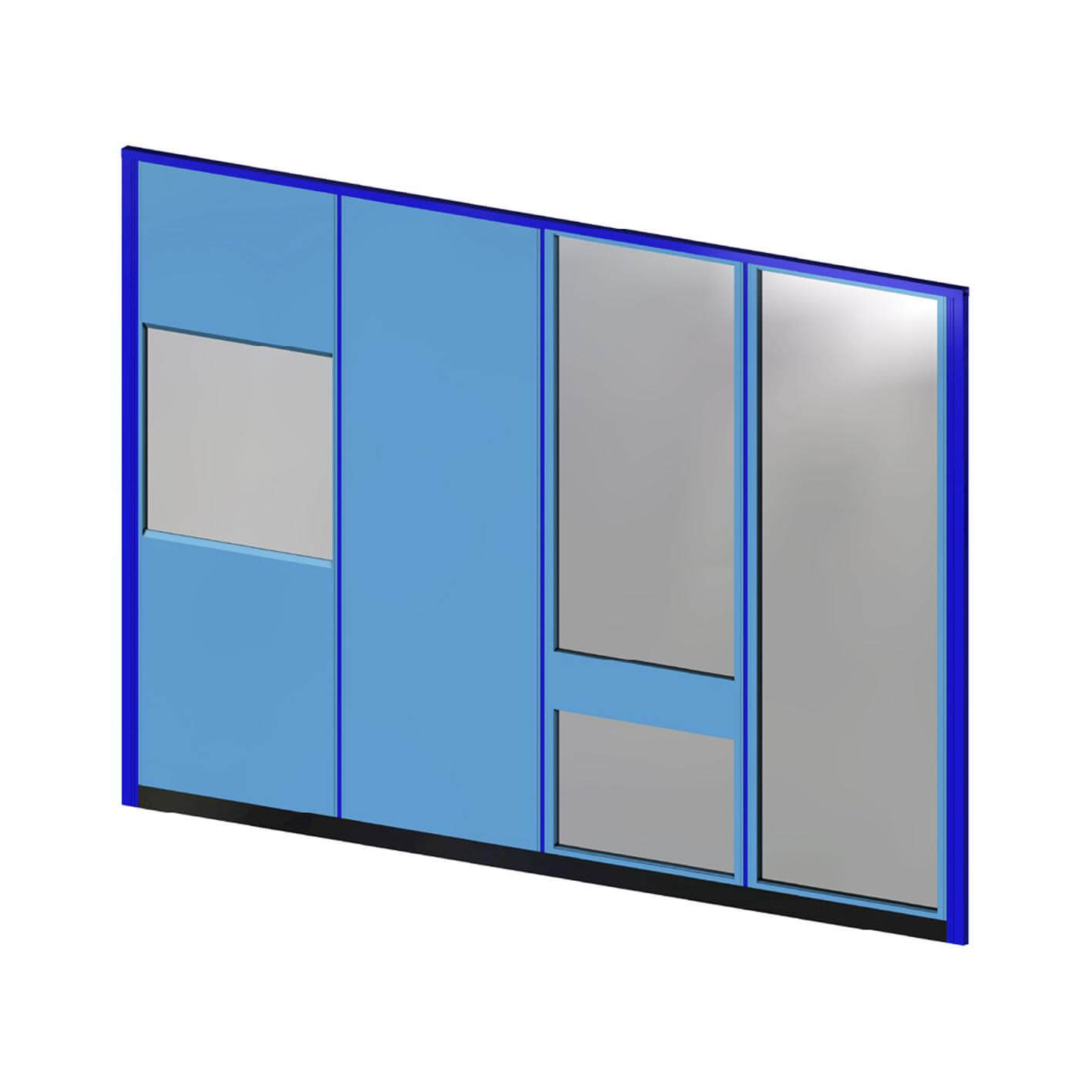 Commercial partitioning, Elan panels
