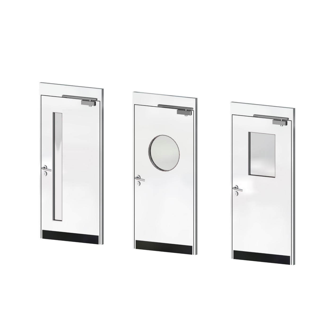 Commercial partitioning, Titan doors