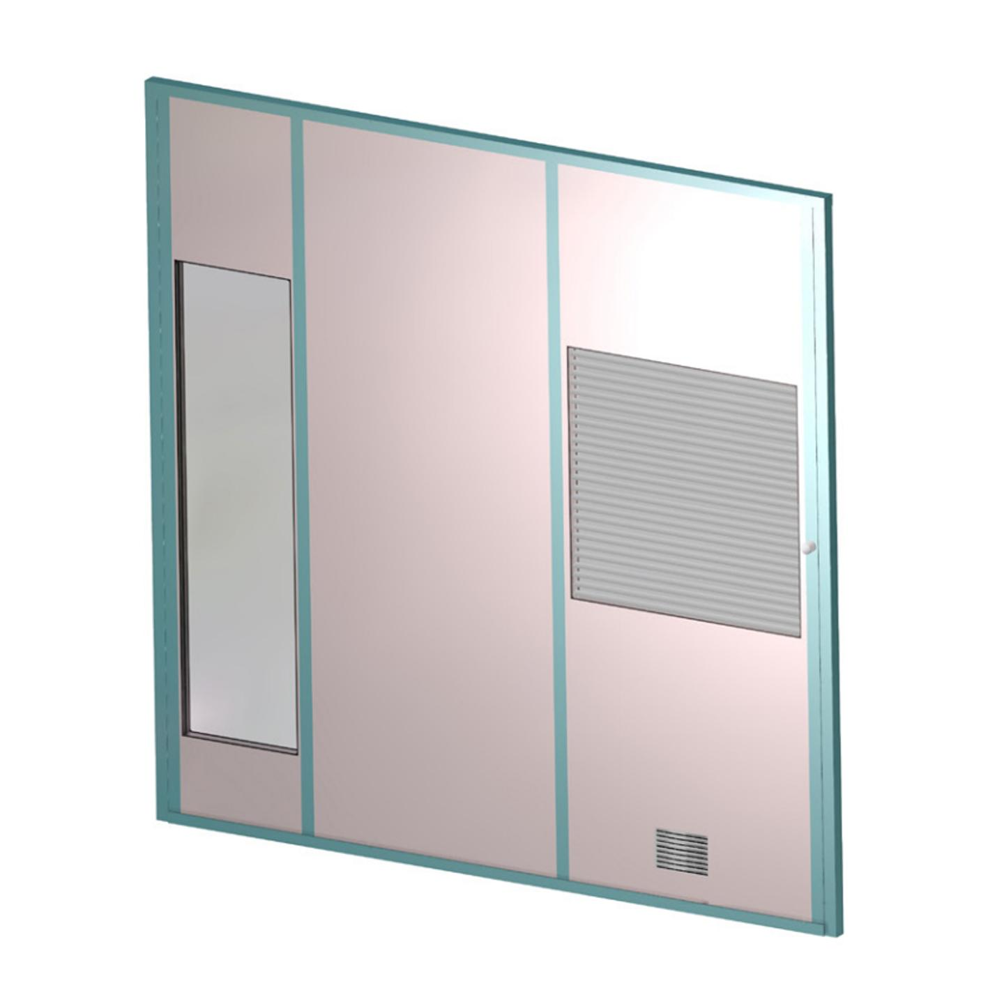 Commercial partitioning, Titan panels