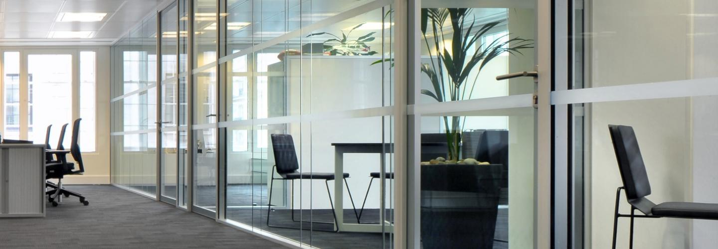 Commercial partitioning, Vetro